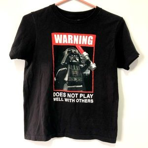 LEGO Star Wars Darth Vader Boys T-Shirt, 10/12